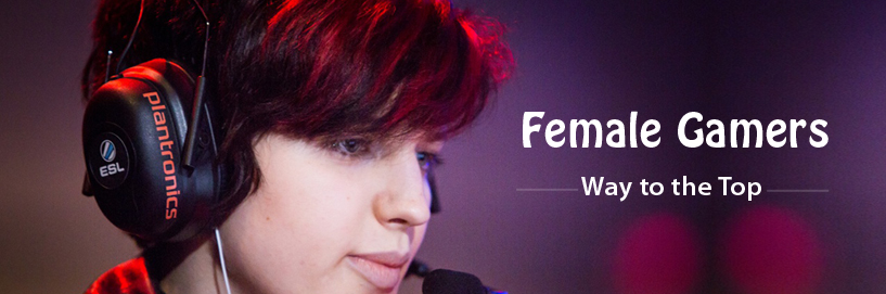 Female gamers are fast taking the lead in Esports globally