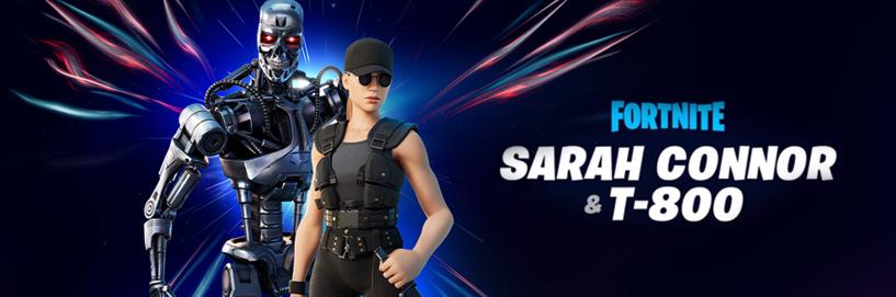 Sarah Connor T-800 skin Fortnite