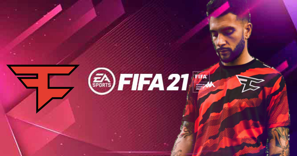 FaZe joins hands with Kappa to create Physical Outfits of FIFA 21 Kit