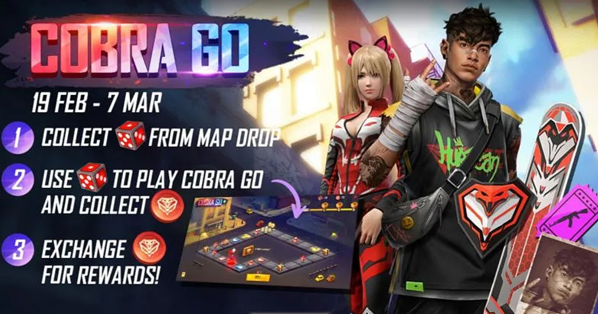 Free Fire Cobra Go Event: What all Gamers can expect
