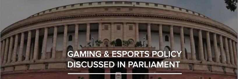 Indian Parliament discusses Esports
