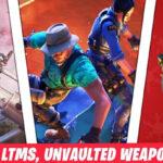 Fortnite v15.40 patch updates