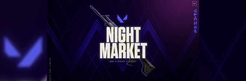 Valorant brings Night Market back for Affordable Weapon Purchases