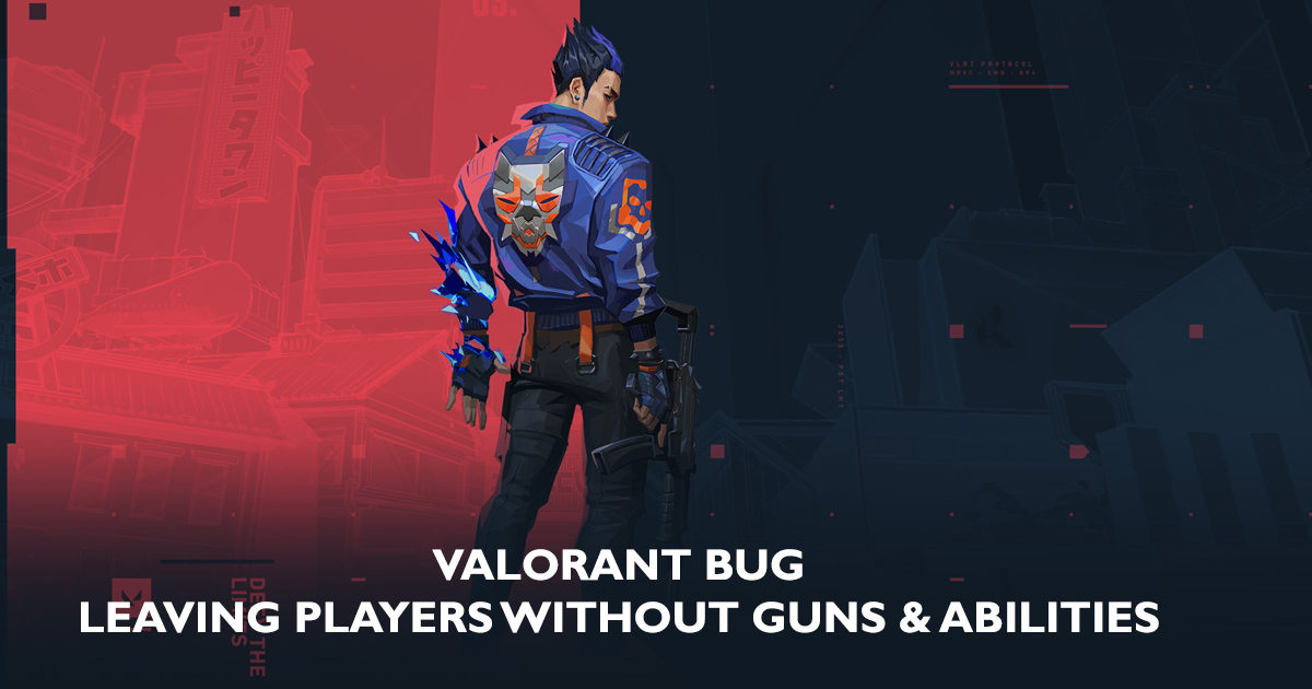 New Valorant Bug rendering Players' Weapons, Abilities paralyzed