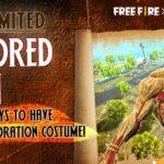 Free Fire x Attack on Titan skins