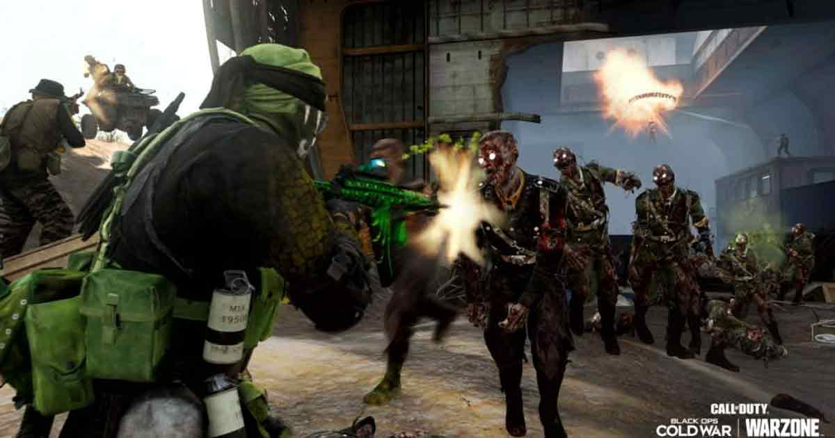Warzone zombie leak