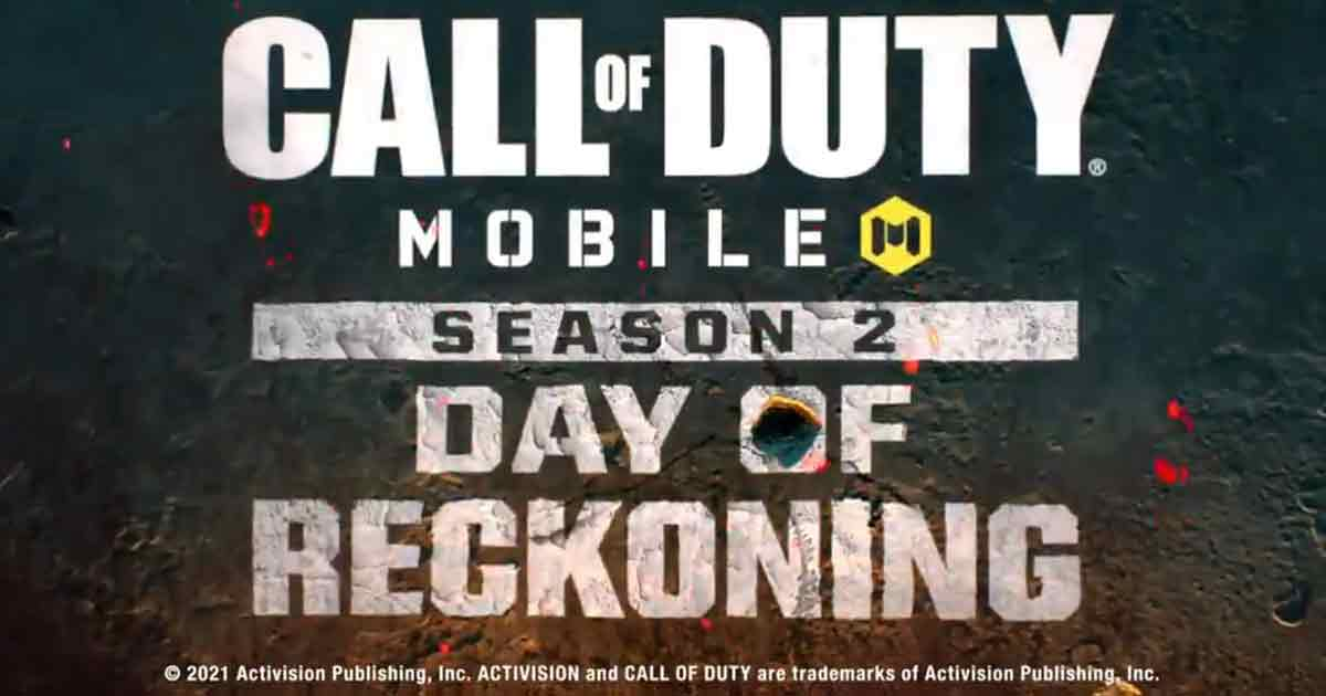 CoD Mobile in Season 2 Day of Reckoning