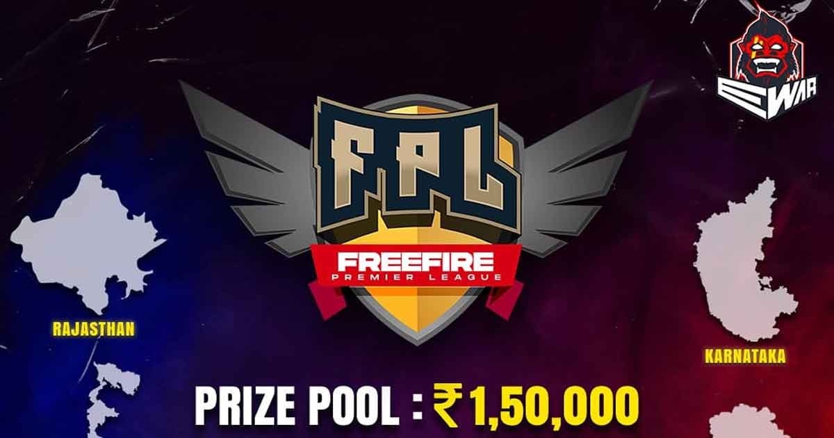 EWar Games to host Free Fire Premiere League with Rs 1.5L Prize Pool