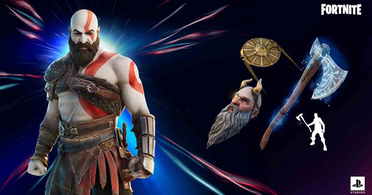 Kratos Outfit comes to Fortnite