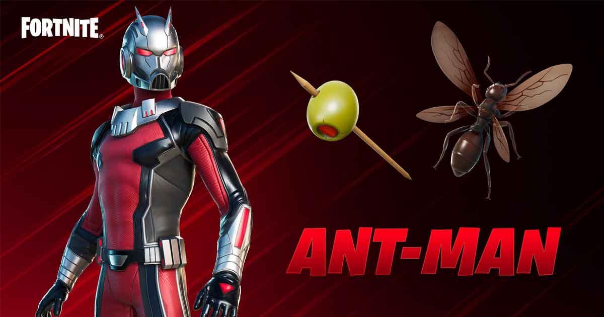 Ant-man in Fortnite