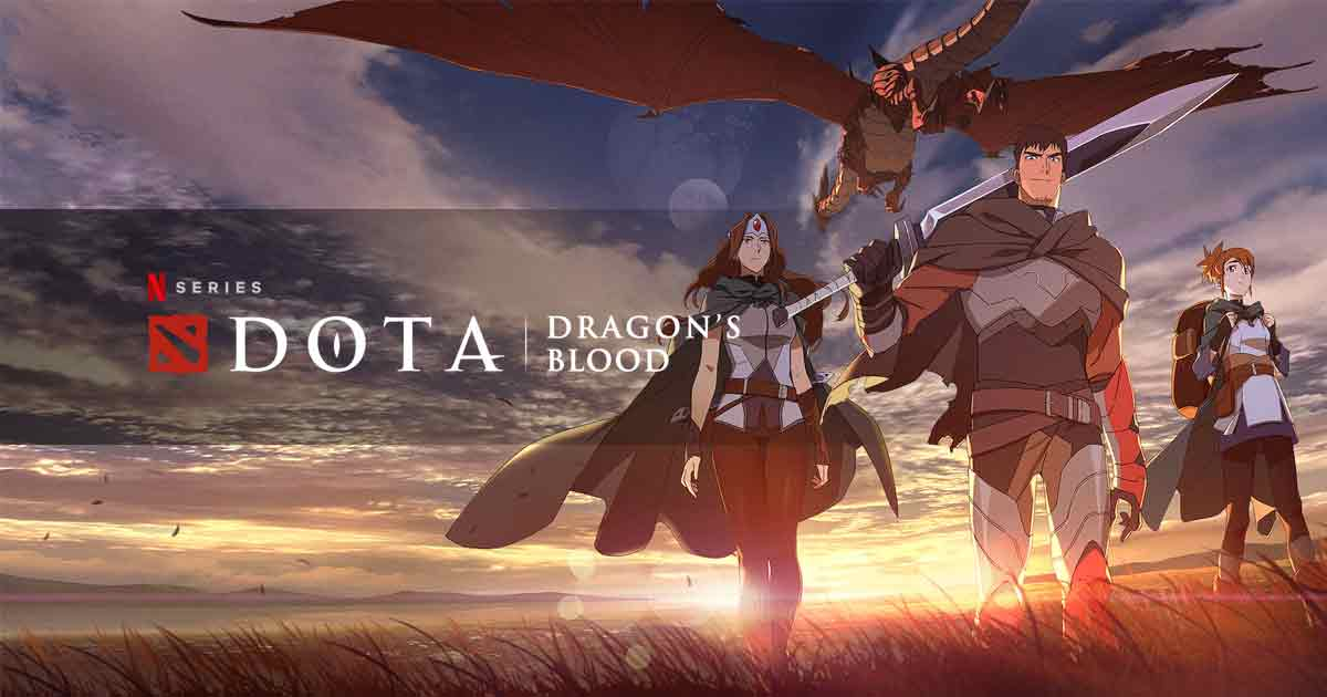 DOTA: Dragon's Blood teaser