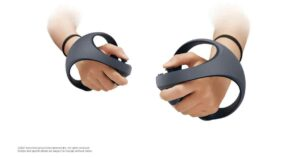 VR controller_PlayStation 5