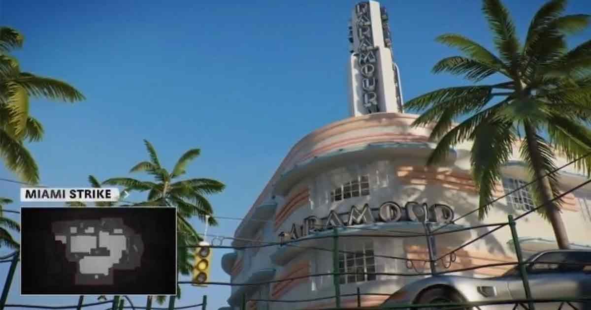Miami Strike Call of Duty