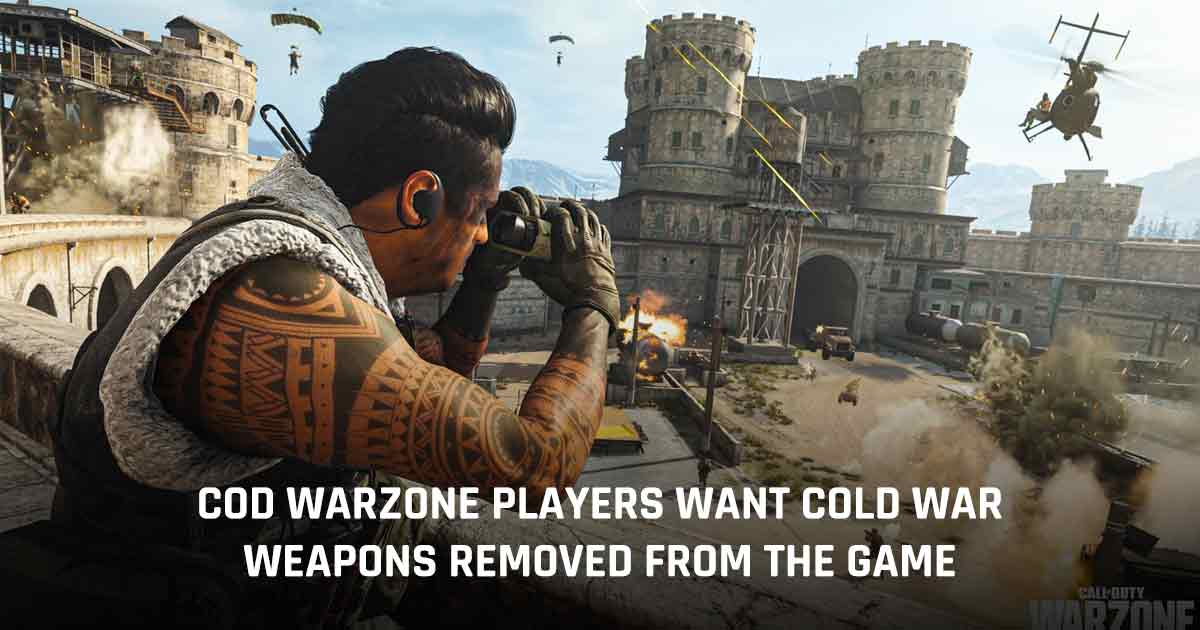 Cold War weapons removed Warzone