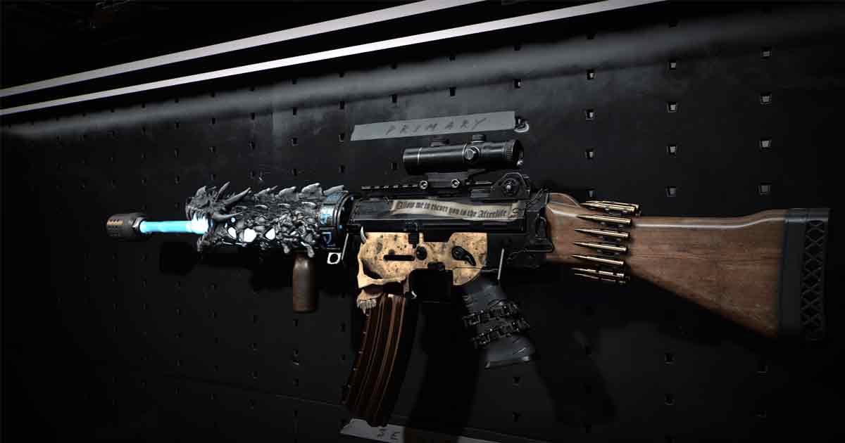 Gunsmith Customs Rivas CoD