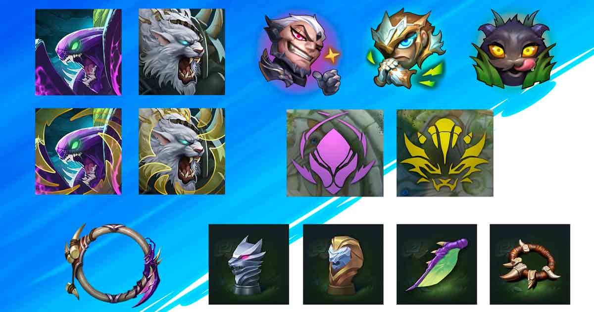 New Accessories, New Events, Systems in Wild Rift 2.2b Update