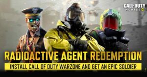 CoD Mobile Radioactive Agent Redemption