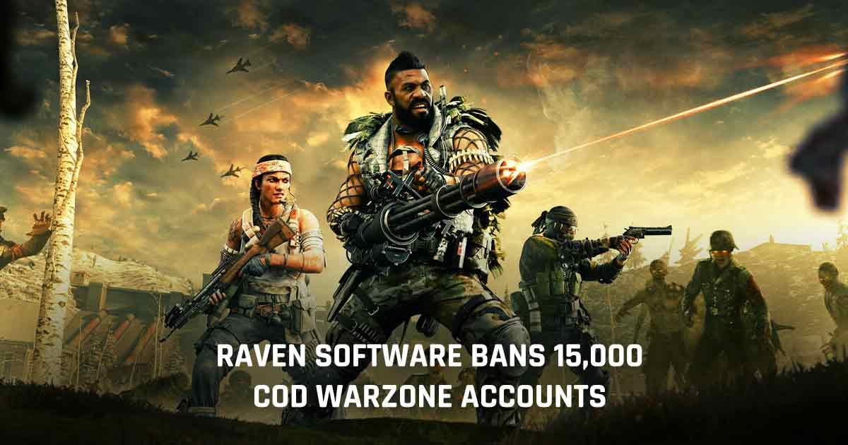 Warzone account ban