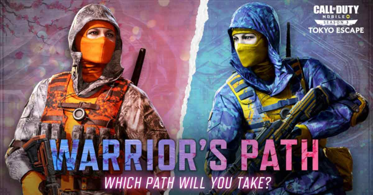 CoD Mobile Warrior Path Event