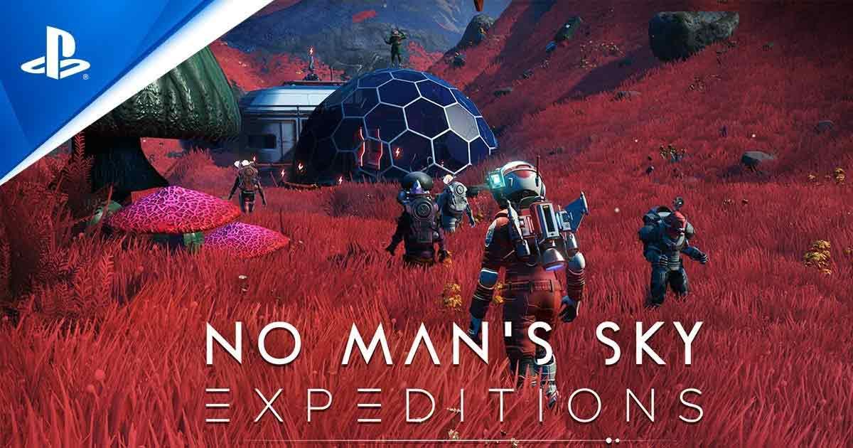 Expeditions Mode No Man's Sky