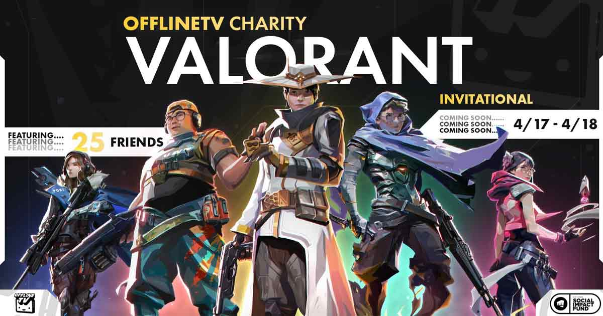 OfflineTV Charity Valorant