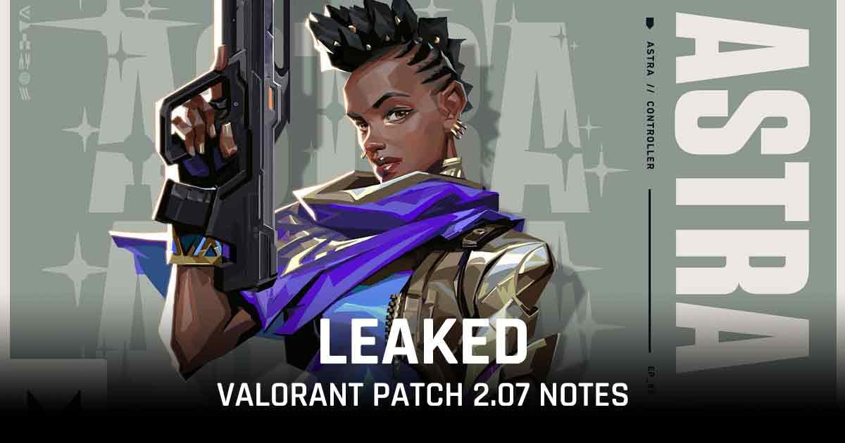 Valorant patch 2.07