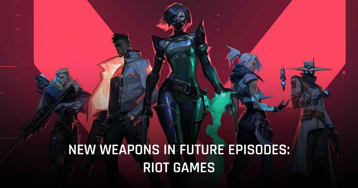 New Weapons Valorant