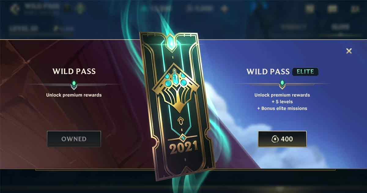 Wild Pass Wild Rift