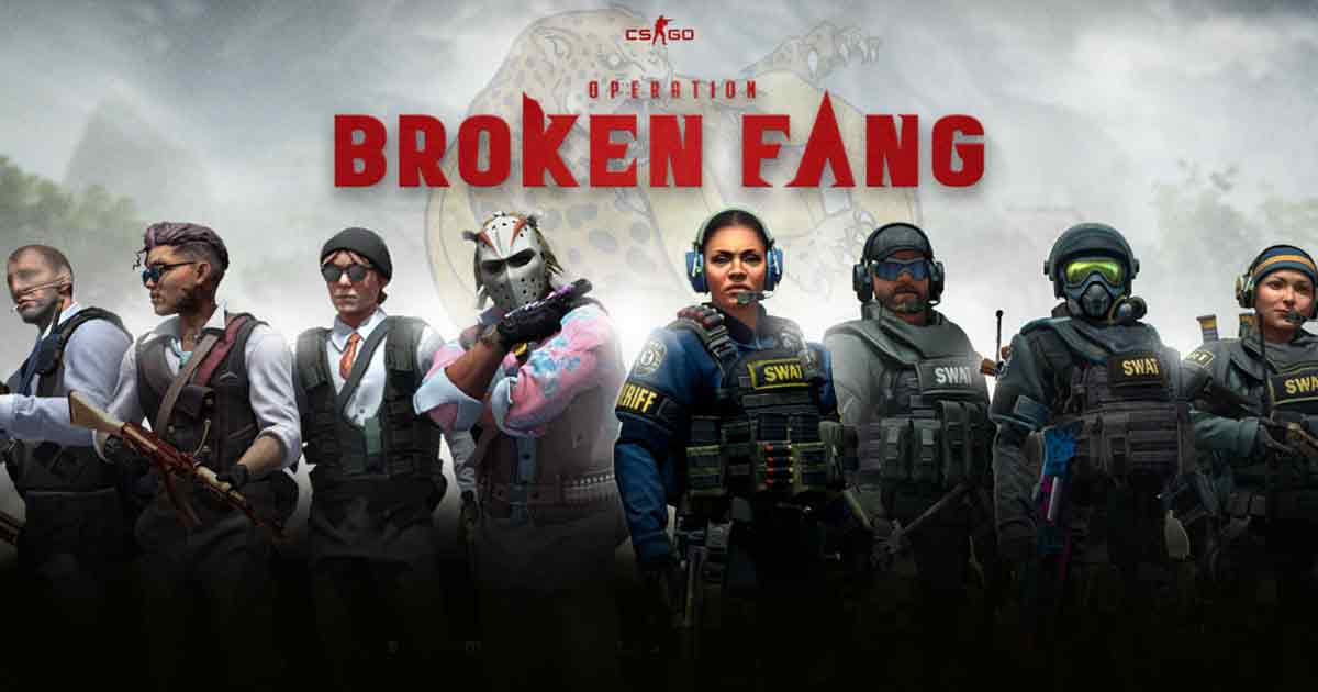 CS:GO Operation Broken Fang