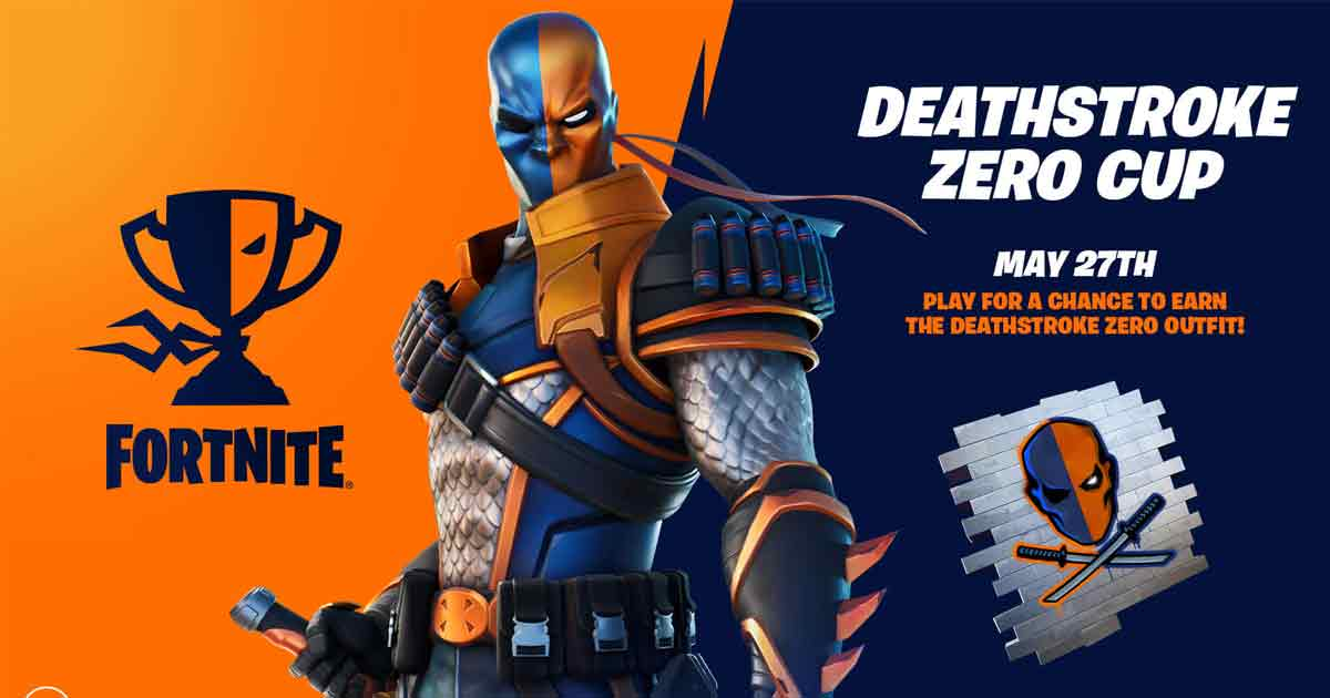 Deathstroke Zero Fortnite