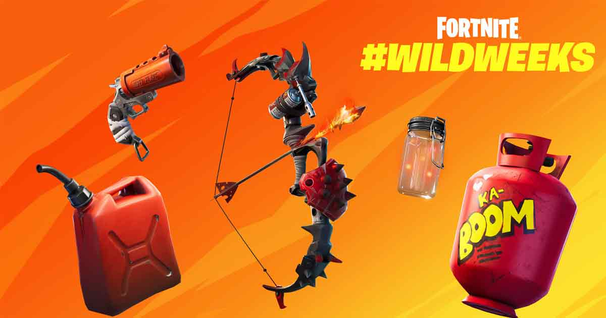 Fortnite kicks off Wild Weeks with Fighting Fire with Fire