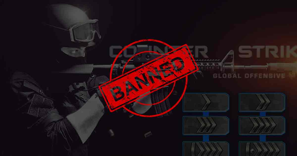 CS:GO account ban