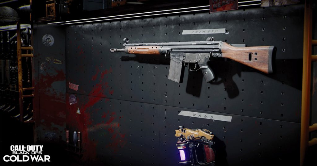 C58 rifle Black Ops Warzone