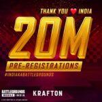 Battlegrounds Mobile 20 million