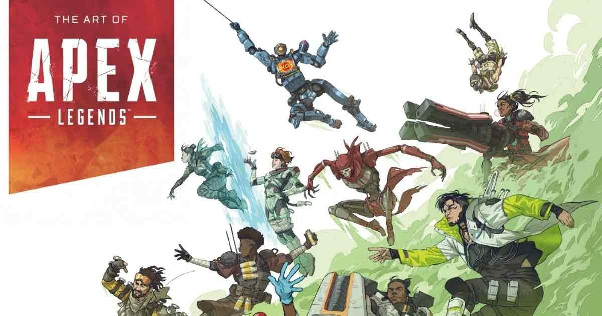 Dark Horse Books Announces The Art of Apex Legends Art Book
