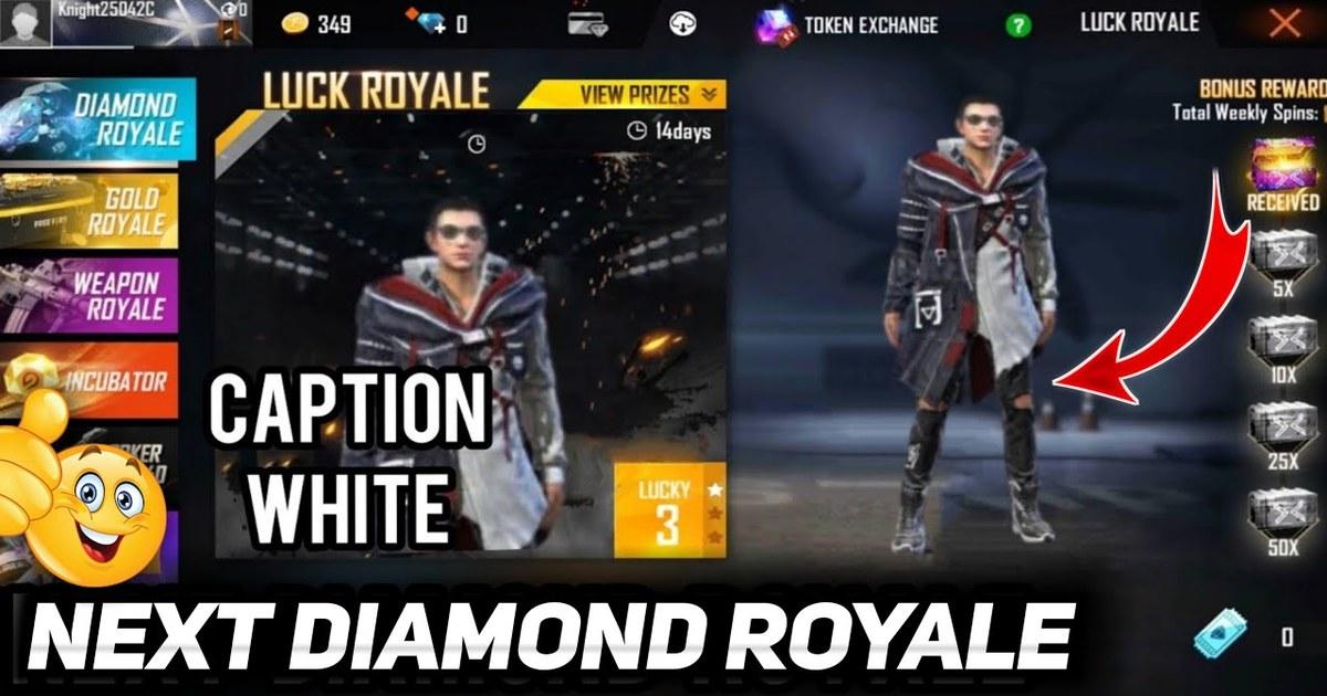Free Fire Diamond Royale