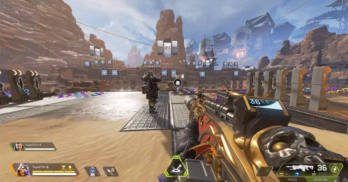 How to activate low gravity glitch in Apex Legends firing range