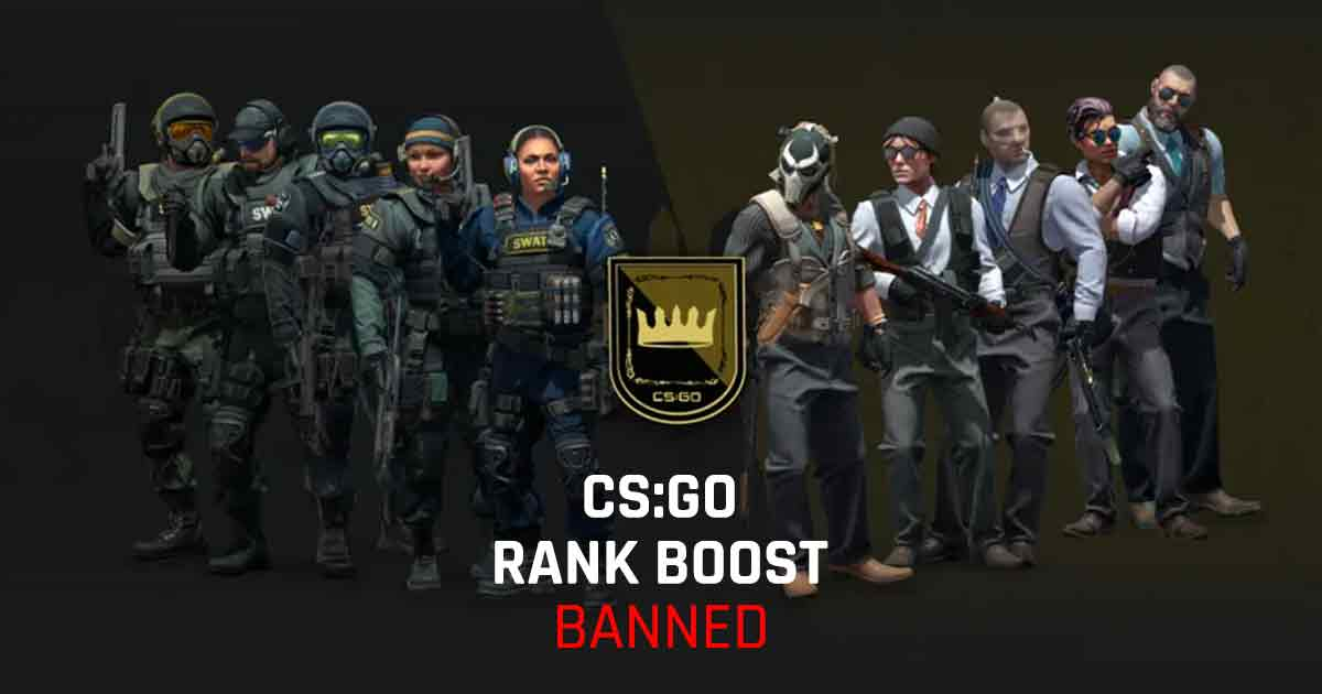 Valve bans over 10,000 CS:GO accounts for Boosting and Botting