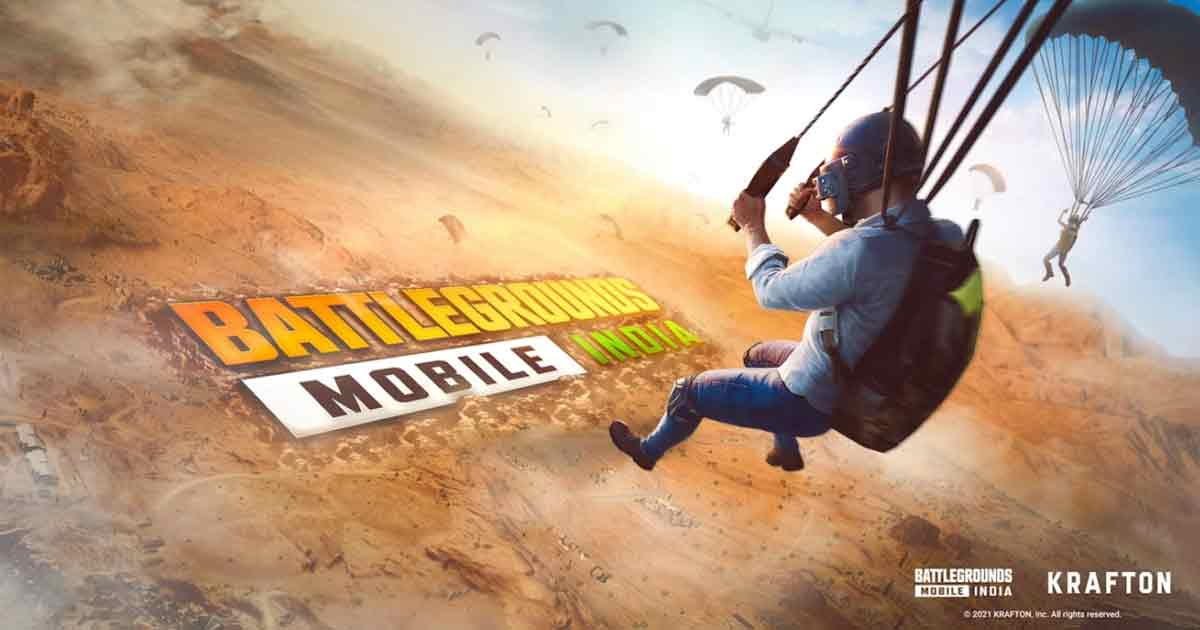 Battlegrounds Mobile India officially launched by Krafton today