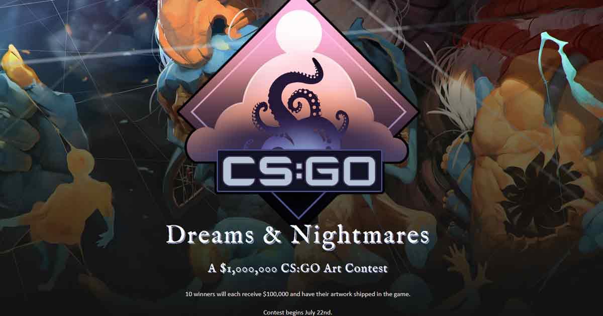 CS:GO to launch $1 Million Dreams & Nightmares Workshop Contest