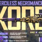 Merciless Necromancer skin Free Fire