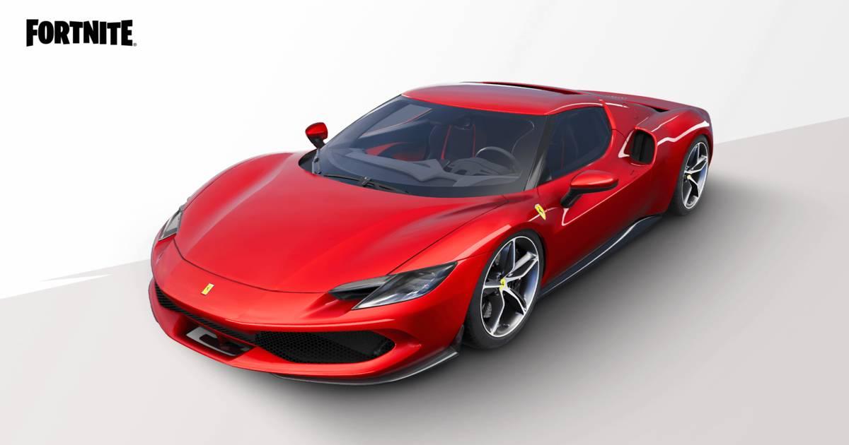 Fortnite Ferrari 296 GTB