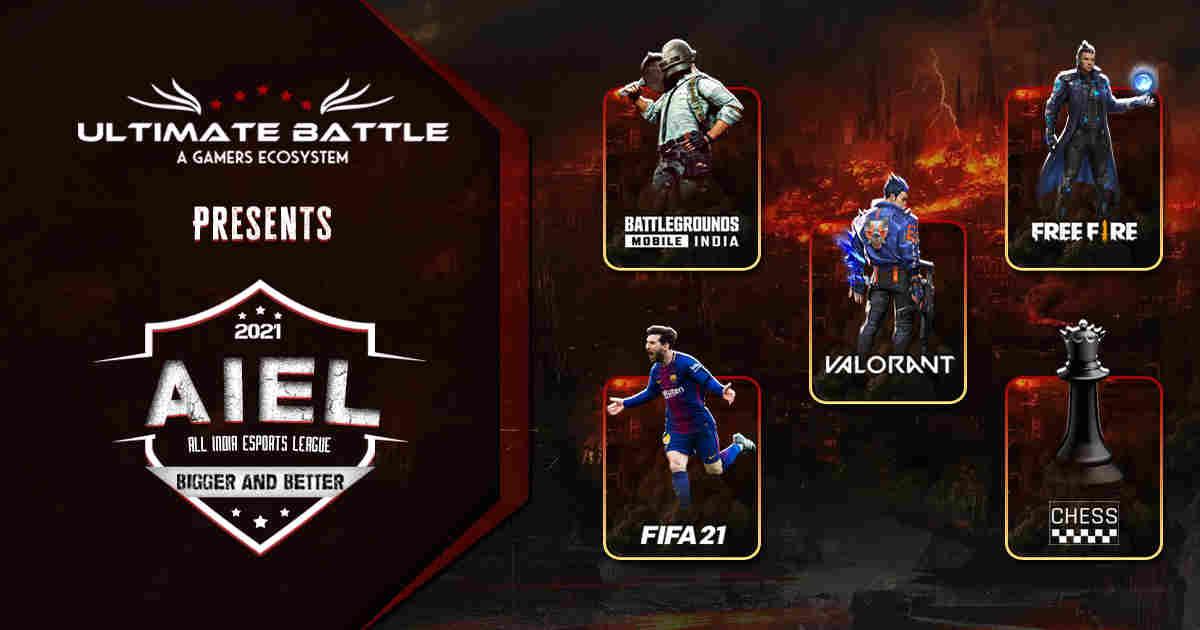 Ultimate Battle announces inaugural edition of All India Esports League (AIEL)