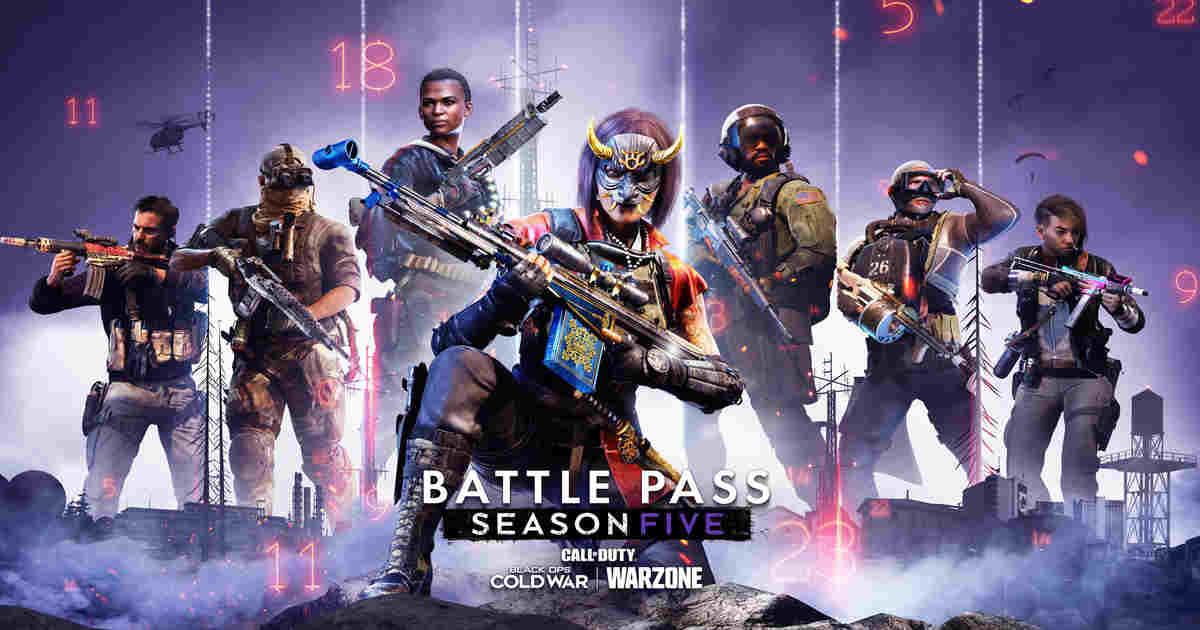 CoD Season Five Battle Pass