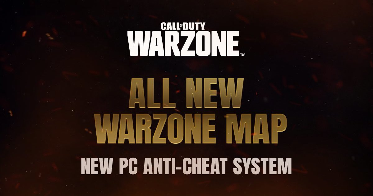 CoD Warzone new map