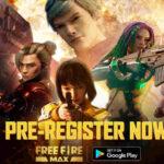 Free Fire Max pre-registrations