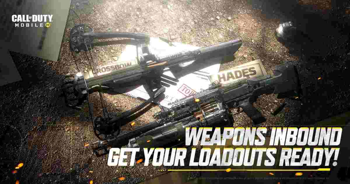 CoD Mobile Hades Crossbow