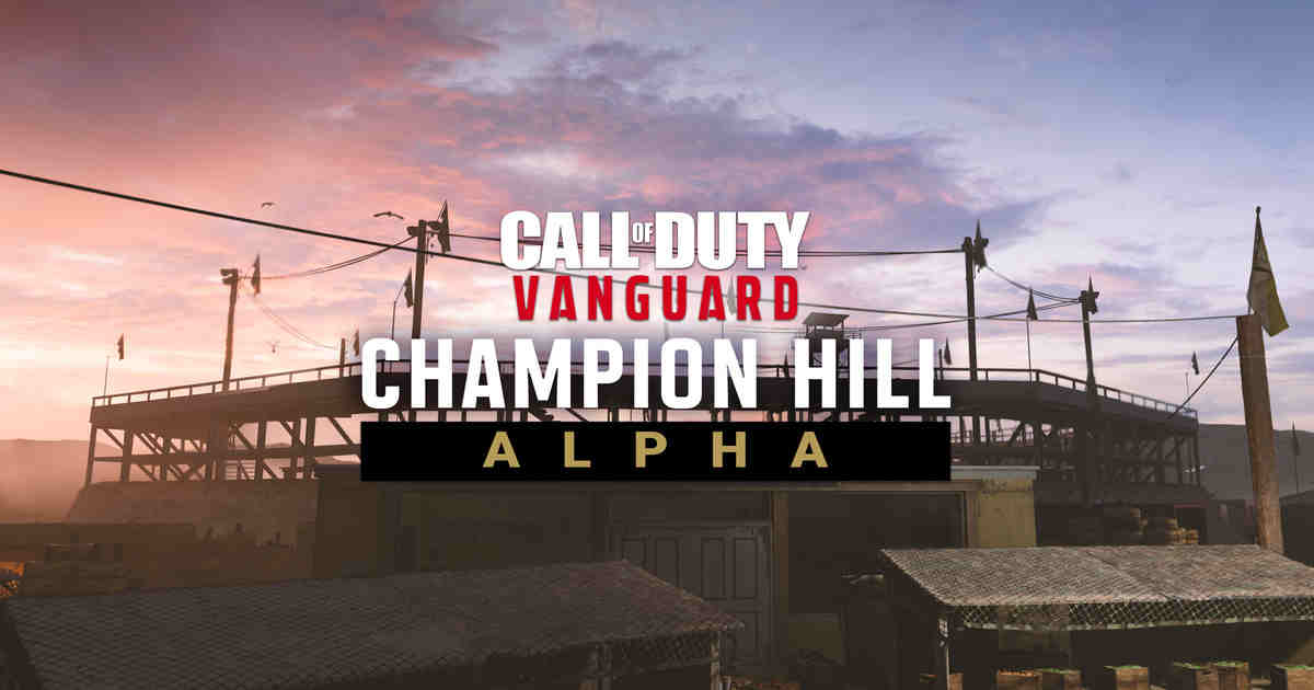 CoD Vanguard PlayStation Alpha with Champion Hill mode arrives Aug 27