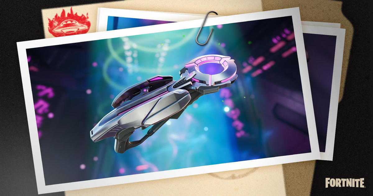 Fortnite's v17.30 patch update introduces Grab-itron Gravity Gun