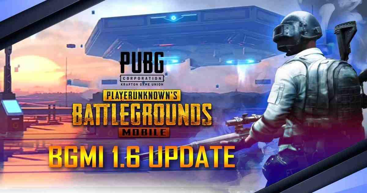 BGMI patch 1.6 Update
